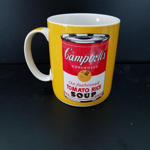 Block Art Other | Andy Warhol Campbells Soup Coffee Mug | Poshmark